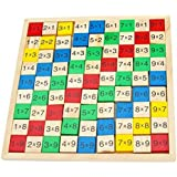 Toys of Wood Oxford Wooden Times Table Board [並行輸入品]