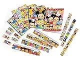 (ディズニー)Disney ディズニー ツムツム 5点 文具 6種 各1セット 計 6点 セット