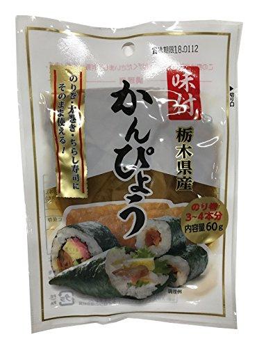角屋米穀 栃木県産 味付かんぴょう 60g×5個