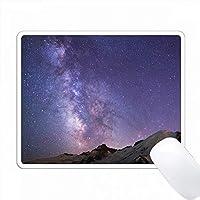 アメリカ、ワシントン、 Rainier NP、Milky Way、Mt.レーニア PC Mouse Pad パソコン マウスパッド
