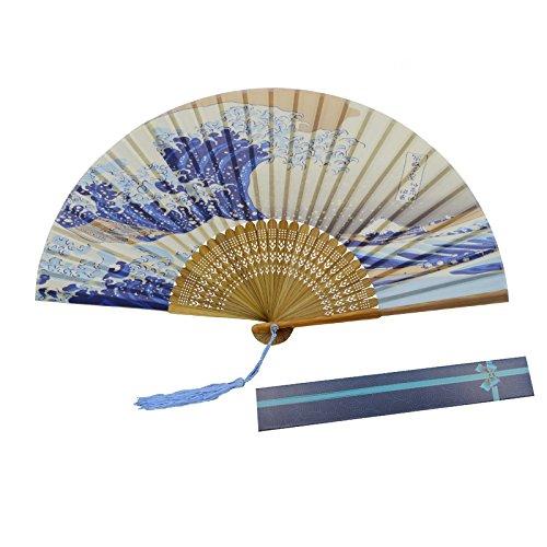 波の花扇子 KAKOO 浮世絵 富嶽三十六景 母の日ギフト ...