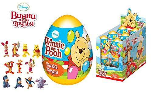 [해외][RusToy] 3 마리의 달걀 놀라움 디즈니 조개 캡슐 부활절 위니의 생일 사탕 장난감 찬성 케이크 토퍼 egg surprise disney Winnie the Pooh/[RusToy] Toe of three surprising Disney shell capsule Easter Pooh`s birthday sweets toy in favor of ...