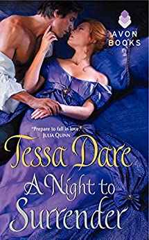 A Night to Surrender (spindle cove) by [Dare, Tessa]