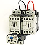 三菱電機 MSO-2XT10 1.5kW 200V AC200V 1a×2+2b 可逆式電磁開閉器 (主回路電圧 200V) (操作電圧 AC200V) (補助接点 1a×2+2b) (ねじ、DINレール取付) NN