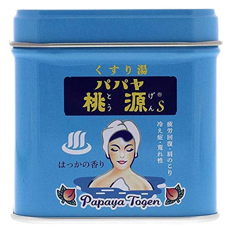 妻アプライアンステザーパパヤ桃源S70g缶 ハッカの香り [医薬部外品]