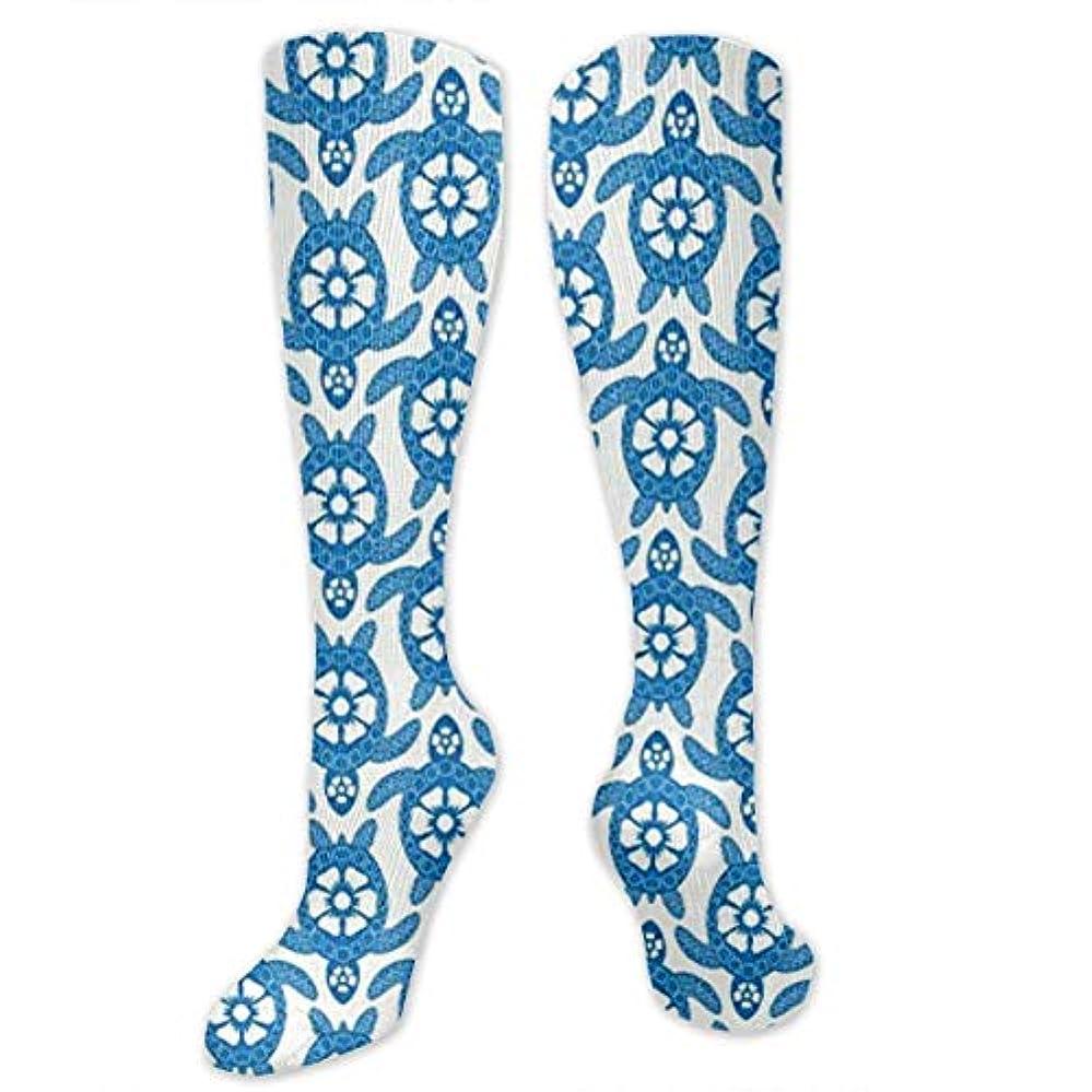 ダーリンレイ啓示靴下,ストッキング,野生のジョーカー,実際,秋の本質,冬必須,サマーウェア&RBXAA Sea of Turtles Socks Women's Winter Cotton Long Tube Socks Knee High...
