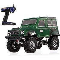 Goolsky ラジコン車 HSP RGT 136100 1/10 2.4GHz 4WD 防水 リアル ロック クルーザー RC-4 RCカー オフロード クローラー 子供 RTC