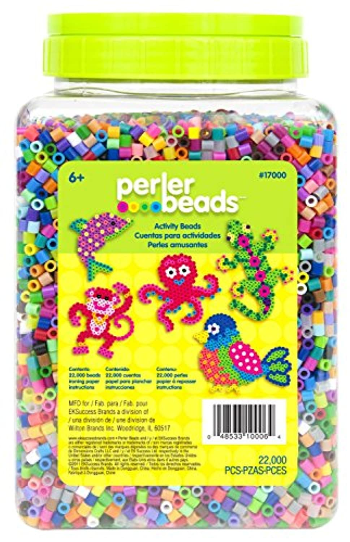 Perler Beads 22,000 Count Bead Jar Multi-Mix Colors [並行輸入品]