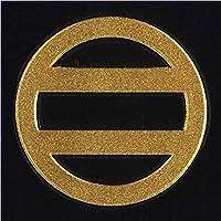一般家紋蒔絵シール 24.七つ割二引/GD