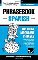 English-Spanish phrasebook and 3000-word topical vocabulary