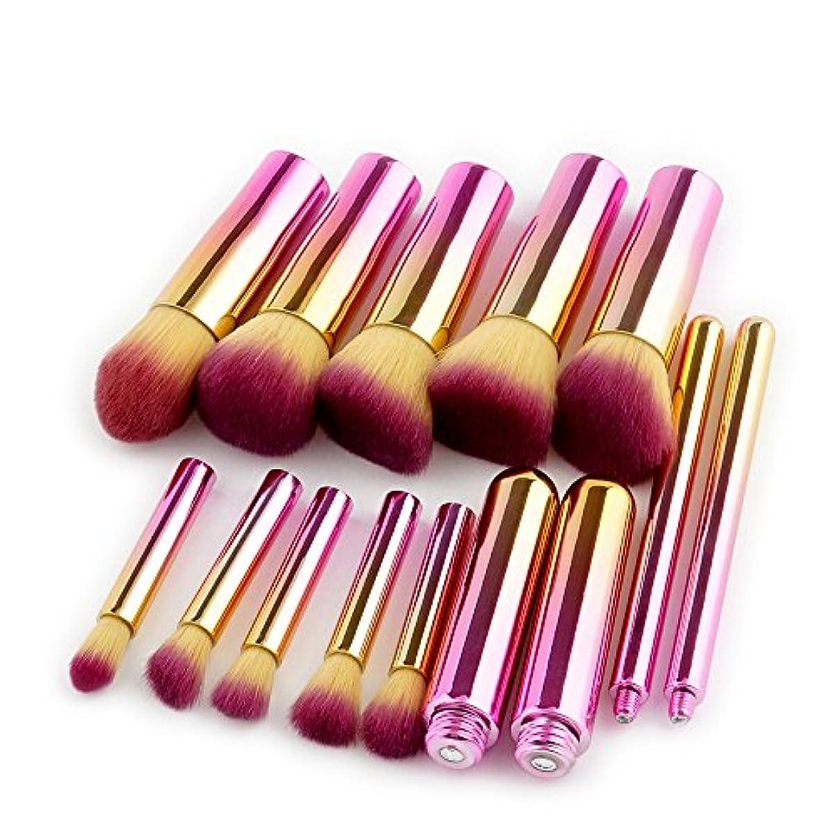 シャーク結果としてネクタイ(プタス)Putars メイクブラシ メイクブラシセット 10本セット ピンク 化粧ブラシ ふわふわ お肌に優しい 毛量たっぷり メイク道具 プレゼント