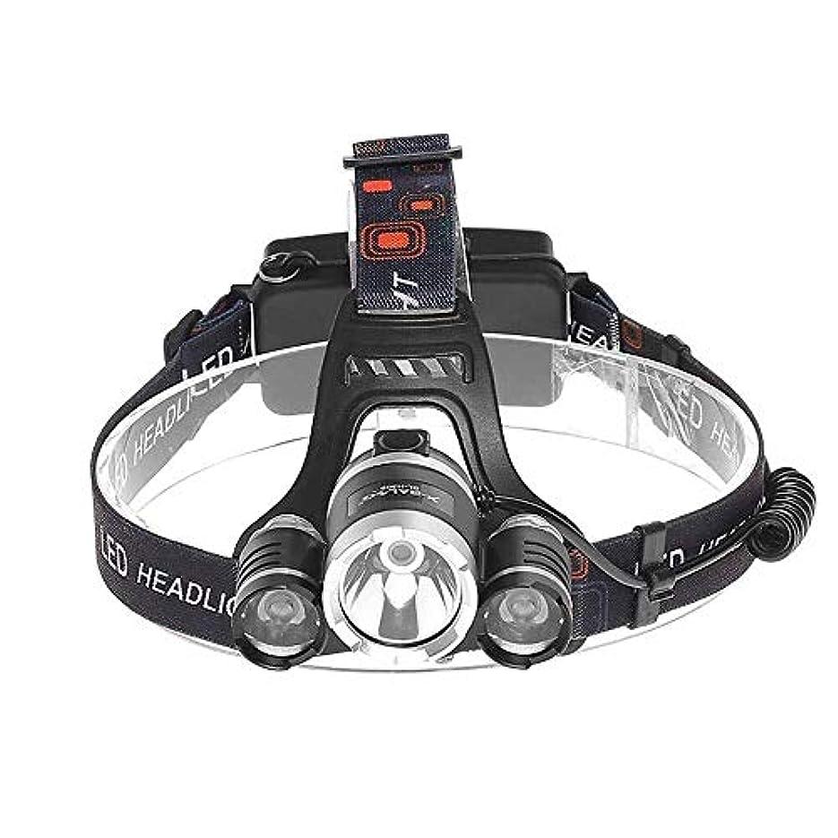 レンド派手宿泊ハット屋外の超高輝度LEDヘッドランプトーチヘッド明るい懐中電灯実行されているヘッドライト懐中電灯キャンプハイキング釣り灯調節可能な軽量の防水ヘッドランプ ヘッドライト