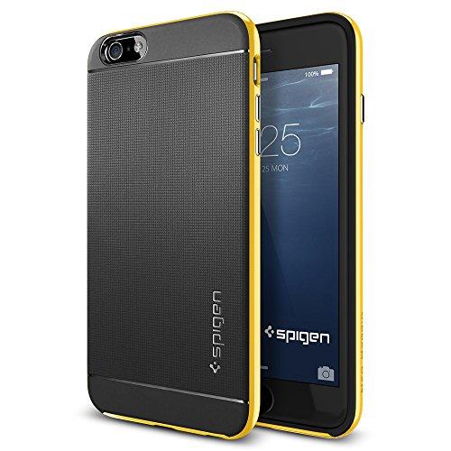 iPhone 6 Plus ケース, Spigen® [ 二重構造 スリム フィット ] ネオ・ハイブリッド Apple iPhone (5.5) アイフォン 6 プラス カバー (国内正規品) (レベントン・イエロー 【SGP11067】)