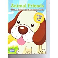 Animal Friends Coloring & Activity Book (Puppy Cover) by Modern Publishing [並行輸入品]