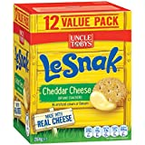 Uncle Tobys Le Snak Cheddar Cheese, 12-Pack, 264g