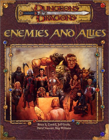 Download Enemies and Allies: Dungeons & Dragons Accessory (D&D Accessory) 0786918527