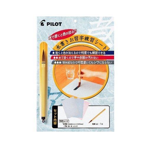 パイロット 水筆紙 お習字練習シート MS-100P
