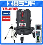 タジマ レーザー墨出し器 NAVITERAレーザー 矩・横・両縦/10m/IP ML10N-KYRSET 受光器・三脚付