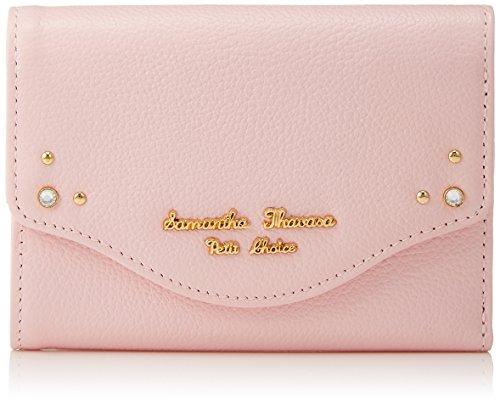 [サマンサタバサプチチョイス] STL スリースタッズ財布 1710201162 00121710201162 20 ピンク
