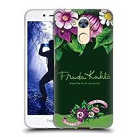Official Frida Kahlo ブルーム パープル・フローラル ソフトジェルケース Huawei Honor 6A