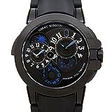 ハリー・ウィンストン オーシャン デュアルタイム ブラックエディション ザリウム OCEATZ44ZZ007 ブラック メンズ 腕時計 [並行輸入品]