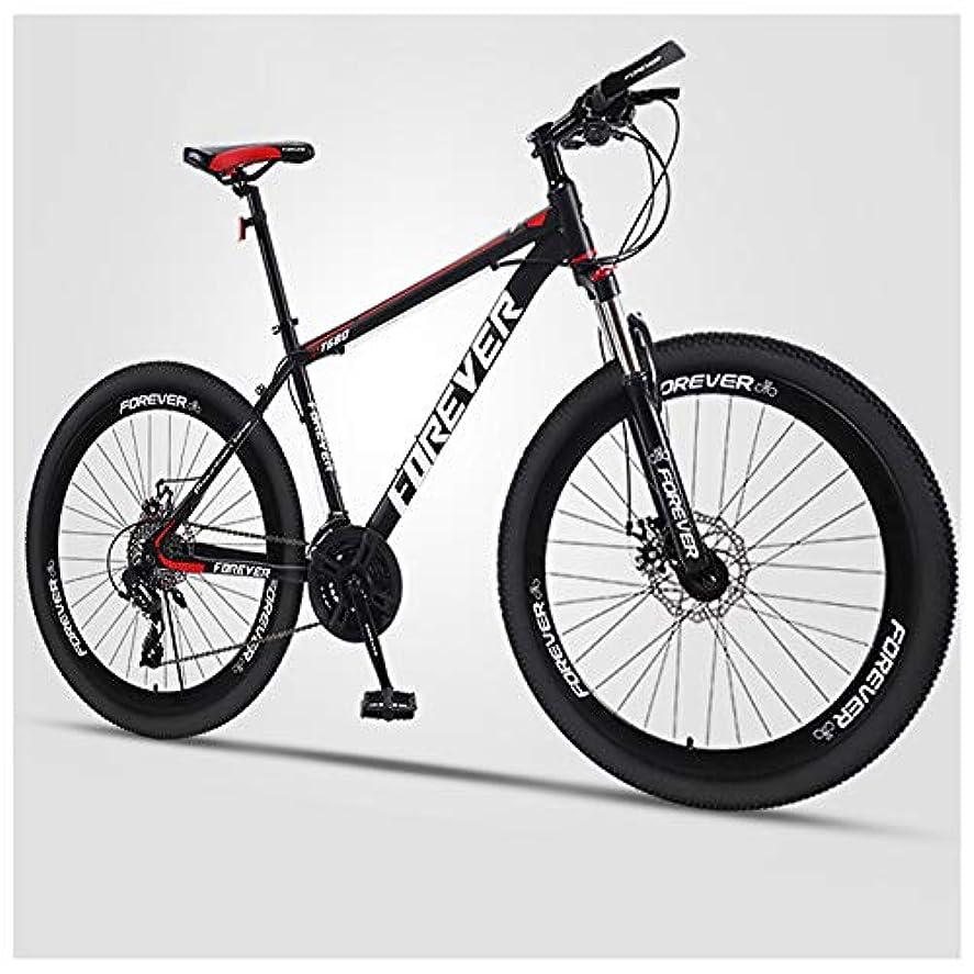 手首コントラスト脇に大人の24インチマウンテンバイク、21-24-27-30スピード自転車、高炭素鋼ハードテールマウンテンバイク、メンズデュアルディスクブレーキオールテレーンマウンテンバイク,B spoke,30 speed