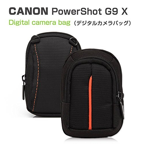 PowerShot G9 Xケース レザー ポーチ カバン型 軽量/薄  CANON G9 X/G7...