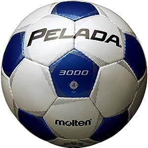 molten(モルテン) ペレーダ3000 [ Pelada3000 ] エントリーモデル 4号球 白+青 F4P3000-WB