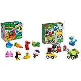 レゴ(LEGO) デュプロ デュプロ(R)のいろいろアイデアボックス 10865 &  デュプロ はじめてのデュプロ いろいろのりものボックス 10886 知育玩具 ブロック おもちゃ 男の子 車【セット買い】