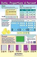 Ratio Proportion & Percent Poster - Laminated Full-Color 23 x 35 [並行輸入品]