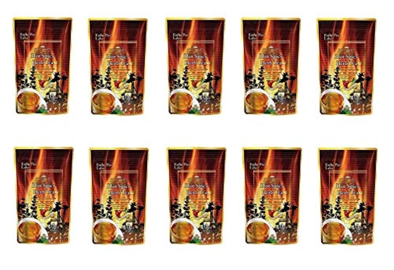 お茶ヨーグルトハッピーエステプロラボ ハーブティープロ ホットスパイシー 30包 10本入り