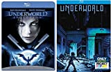 Underworld Exclusive Steelbook + Evolution Blu Ray - movie Set Kate Beckinsale Vampires & Lycans