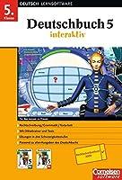 Deutschbuch interaktiv. 5. Schuljahr. CD-ROM für Windows 95/2000/XP. Neue Rechtschreibung: Software für das Lernen zu Hause