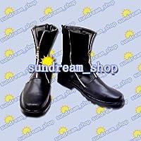 【サイズ選択可】女性25CM★コスプレ靴 ブーツ★20020★ファイナルファンタジー★クラウド