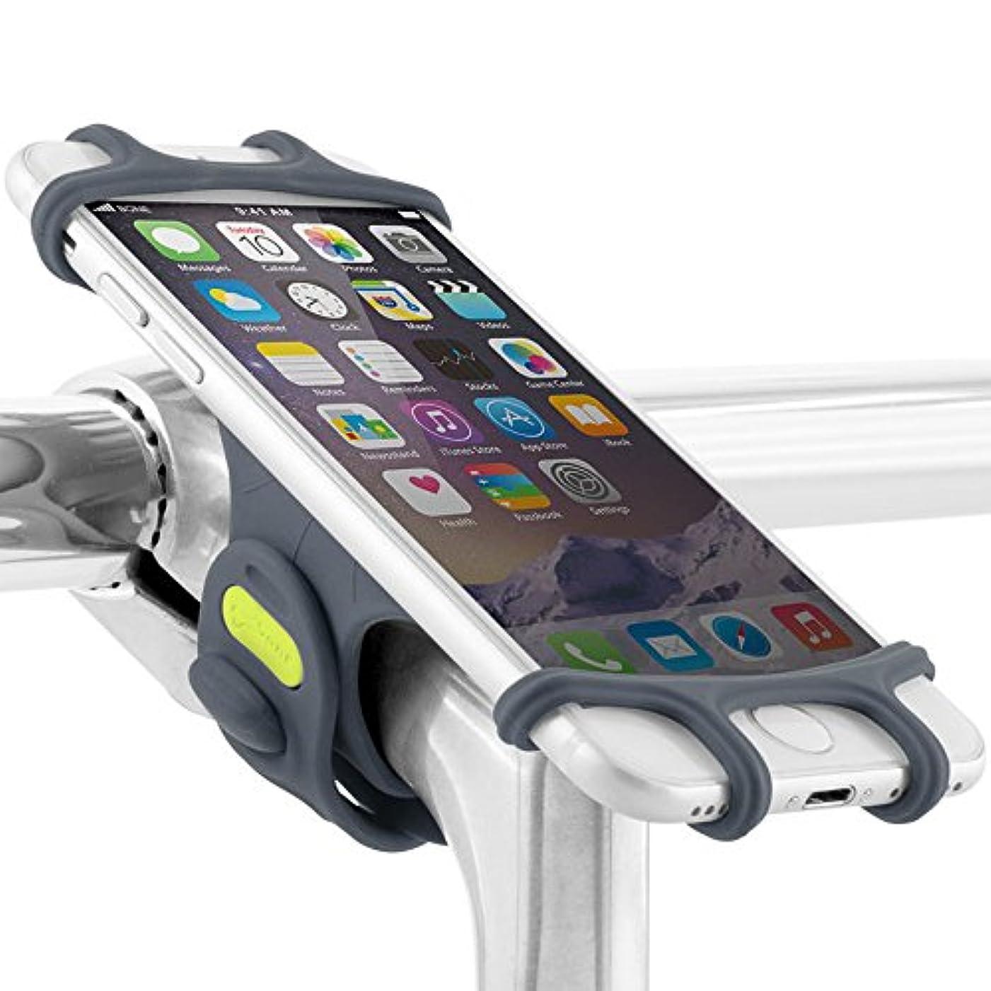 多くの危険がある状況狂気結晶Bone Collection Bike Tie Pro 自転車スマホホルダー シリコン製 ステム用 4-6インチ対応 BK17001-B