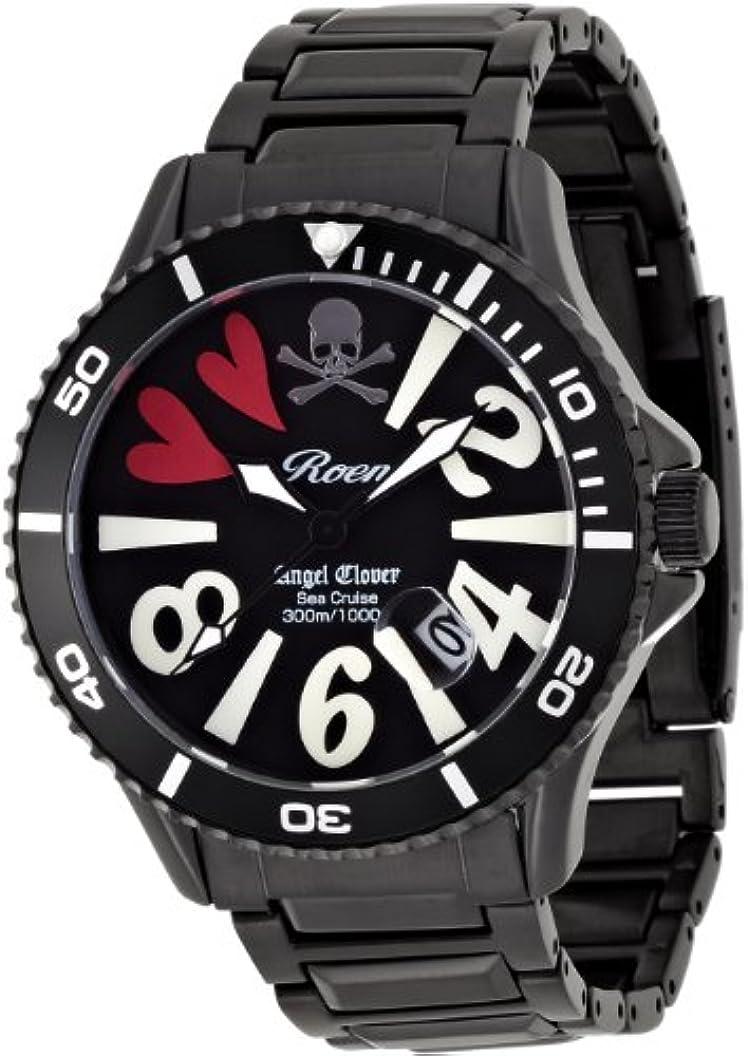 機械的したがってそのような[エンジェルクローバー] 腕時計 SC42ROBK