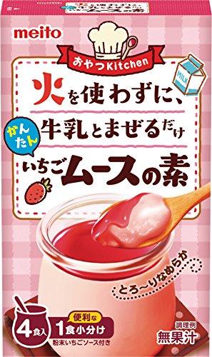 名糖 かんたんいちごムースの素 4P×6箱