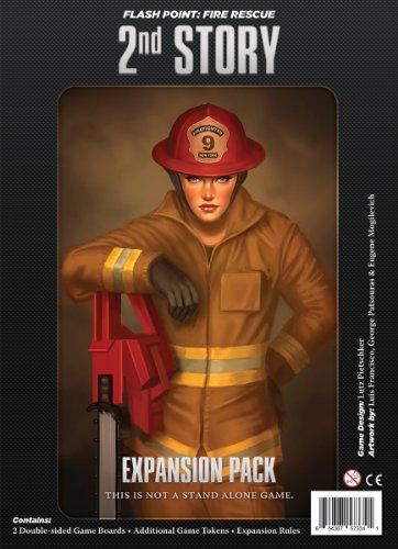 フラッシュポイント 火災救助隊拡張セット セカンドストーリー (Flash Point:Fire Rescue 2nd Story) ボードゲーム