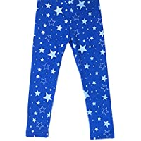 Shouhengda Baby Girls' Star Printed Warm Stretchy Long Slim Pants
