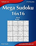 Mega Sudoku 16x16: Hard, 276 Puzzles