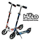HALO(ハロ) Big Wheels Scooter キックボード キックスケーター [折りたたみ式/フットブレーキ付/ウィールABEC 5] …