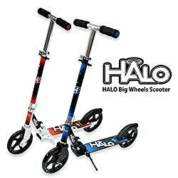HALO(ハロ) Big Wheels Scooter キックボード キックスケーター [折りたたみ式 フットブレーキ付 ウィールABEC 5] …