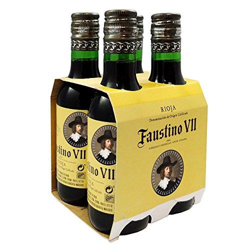 スペインお土産 ファウスティーノ7世 ミニ赤ワイン やや重口...