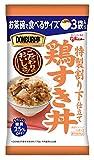 江崎グリコ DONBURI亭 お茶碗で食べるサイズ3食パック鶏すき丼 70g×3食 ×6個
