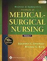 Brunner and Suddarth's Textbook of Medical-Surgical Nursing (Textbook of Medical Surgical Nursing - 2-Vol Set (Brunner/Su)