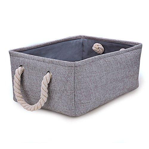 収納 バスケット 折りたたみ ランドリーハンパー 洗濯かご 生活雑貨 収納ボックス ハンパー ボックス 収納箱(オックスフォードの布)(36X26X17 CM)