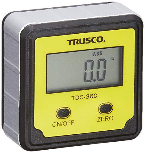 TRUSCO(トラスコ) デジタル水平傾斜計 デジキュービック TDC-360