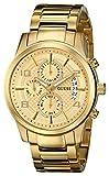 時計 GUESS ゲス Men's U0075G5 ?Gold-Tone Chronograph Watch with Date Function メンズ 男性用 [並行輸入品]