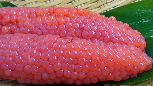 産直丸魚 北三陸洋野町産の秋鮭「生筋子」500g入! 自家製いくらにどうぞ! 筋子 すじこ ハラコ 腹子 さけ