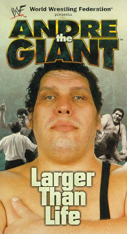WWE - Andre the Giant - Larger Than Life [VHS] [Import]